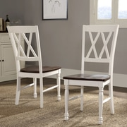 Crosley Shelby Dining Chair In White Finish (Set Of Two) (CF501018-WH)