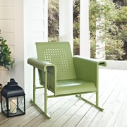 Crosley Veranda Single Glider Chair In Oasis Green (CO1005A-GR)