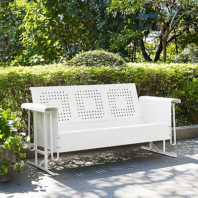 Crosley Bates Sofa Glider In White (CO1016-WH)