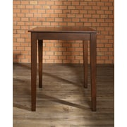 Crosley Tapered Leg Pub Table In Vintage Mahogany Finish. (KD20002MA)