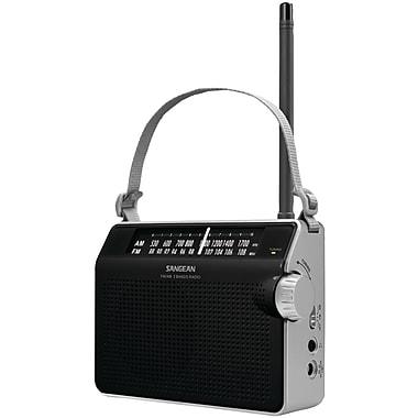 Sangean Pr-D6Bk Am/Fm Compact Analog Radio, Black (SNGPRD6BKDS)