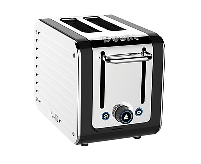 Dualit Design Series 2 Slice Toaster, Silver/Black (26555)
