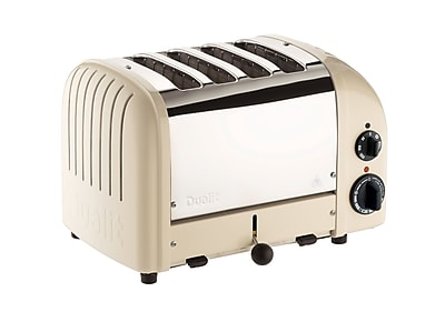 Dualit New Gen 4 Slice Toaster, Utility Cream (47152)