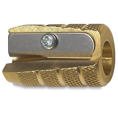 Alvin Brass Bullet Sharpener, Box Of 12 (AN9866X12)