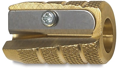 Alvin Brass Bullet Sharpener, Box Of 12 (AN9866X12)