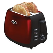 Oster® 2-Slice Extra Wide Slot Toaster, Red (006595-001-000)