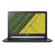 "Acer® Aspire 5 A5155150RR 15.6"" Notebook, LCD, Intel Core i5-7200U, 1TB HDD, 8GB, Win 10 Home, Obsidian Black"