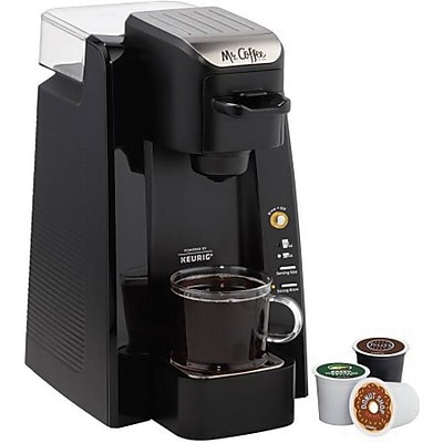 Mr. Coffee® Single Cup K-Cup® Brewing System, removable 24-oz water reservoir by Mr. Coffee BVMC-SC500-1
