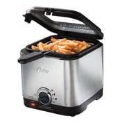 Oster® 1.5 L Compact Deep Fryer, 1000 W, Silver/Black (CKSTDF102SS)