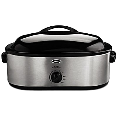 Oster® 18 qt Roaster Oven with Buffet Server, Stainless Steel (CKSTRS18-NP)