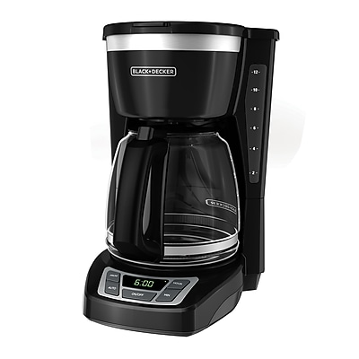 Black & Decker CM1160 12 Cup Programmable Coffee Maker, Black 24254531
