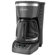 Black & Decker® CM1160 12 Cup Programmable Coffee Maker, Gray