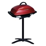 George Foreman® Indoor/Outdoor 12 Serving Rectangular Electric Grill, Red (GFO201R)