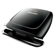 George Foreman® 8 Serving Basic Plate Electric Grill, Black (GR2120B)