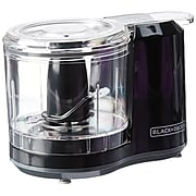 Black & Decker® 1.5 Cup Electric Food Chopper, Black (HC150B)
