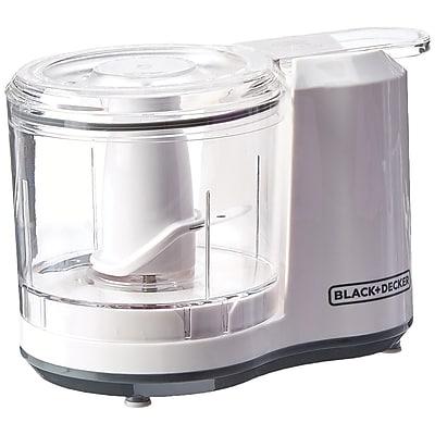 Black & Decker® 1.5 Cup Electric Food Chopper, White (HC150W)