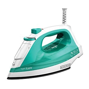 Black & Decker® Light 'N Easy™ Compact Steam Iron, Teal (IR1010)