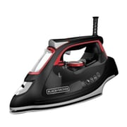 Black & Decker® Impact™ Advanced Steam Iron, Black (IR3000)