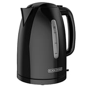 Black & Decker® 1.7 L Electric Kettle, Black (KE1550B)