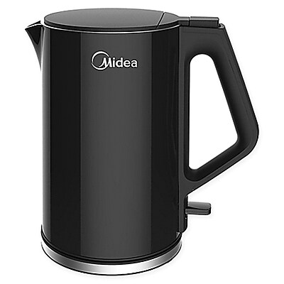 Midea® CoolTouch 1.5 L Electric Kettle, Black (MEK17DWB)
