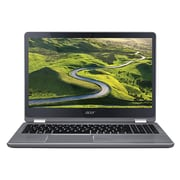 "Acer® Aspire R 15 R5-571TG-57YD 15.6"" Notebook, LCD, Intel Core i5-7200U, 256GB SSD, 8GB, Win 10 Home, Steel Gray"