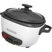 Black & Decker® 14-Cup Rice Cooker, White (RC514)