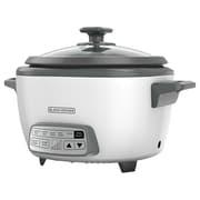 Black & Decker® 14-Cup Digital Rice Cooker, White (RCD514)