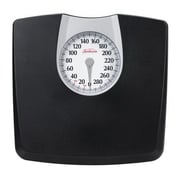 Sunbeam® SAB602DQ105 Dial Floor Scale, Black, 330 lbs.