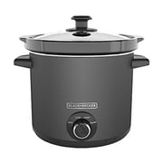Black & Decker® 4 qt Slow Cooker, Slate (SC4004D)