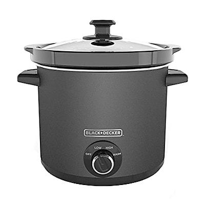Black & Decker® 4 qt Slow Cooker, Slate (SC4004D)