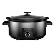 Black & Decker® 7 qt Slow Cooker, Black/Silver (SC5007D)