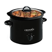 Crock-Pot® 3 qt Manual Slow Cooker, Black (SCR300-B)