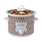Crock-Pot® 3 qt Manual Slow Cooker, Red Diamond Pattern (SCR300-RD)