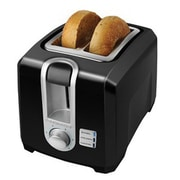 Black & Decker® 2-Slice Extra-Wide Slot Toaster, Black (T2569B)