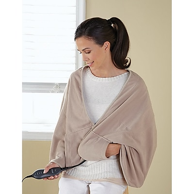 Sunbeam® Chill-Away™ Personal Heated Wrap, Sand (TCFQR-783-00)