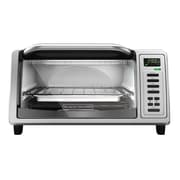 Black & Decker® Stainless Steel 4-Slice Digital Toaster Oven, Silver (TO1380SS)