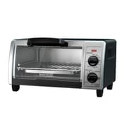 Black & Decker® Stainless Steel 4-Slice Countertop Toaster Oven, Silver (TO1705SG)