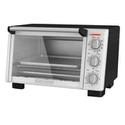 Black & Decker® Stainless Steel 6-Slice Convection Countertop Toaster Oven, Black (TO2055S)