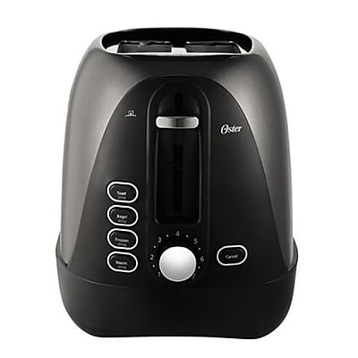Oster® 2-Slice Extra-Wide Slot Toaster, Gray (TSSTTRJBG1NP)