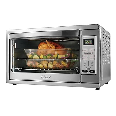 Oster® Extra Large Digital Convection Countertop Oven, Brushed Stainless Steel (TSSTTVDGXL)