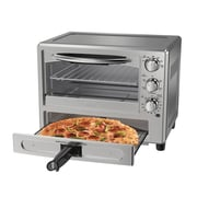 Oster® Convection Oven with Pizza Drawer, Stainless Steel (TSSTTVPZDA)