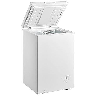Midea® 3.5 cu.ft. Single Door Chest Freezer, White (WHS129C1)