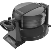BLACK+DECKER™ Double Flip Waffle Maker, Black (WMD200B)