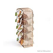 Mind Reader Metal Mesh 30 Capacity K-Cup Storage, Carousel, Gold (CRSMESH-GLD)