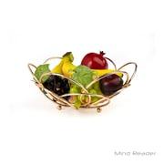 Mind Reader Modern Rose Gold Fruit and Vegetable Bowl, Gold (FRBOWL-GLD)