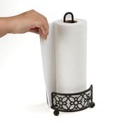Mind Reader Free Standing Metal Paper Towel Holder, Black (PTHOLD-BLK)