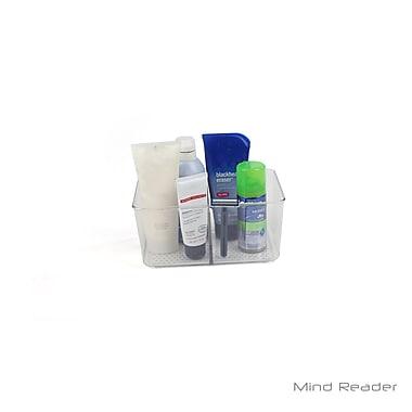 Mind Reader Bathroom Supply Organizer, Clear (SINKORG-CLR)