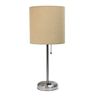 Limelights Incandescent Table Lamp, Tan (LT2024-TAN)