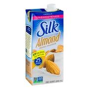 Silk® Almond Milk Unsweetened Vanilla 32 oz. (443869)