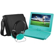 "Ematic EPD909TL 9"" Portable DVD Player Bundles (Teal)"
